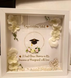 Hand made by kiran Graduation
