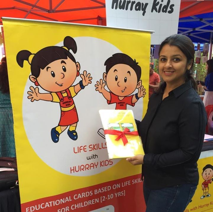 Somapika Sarkar Founder of Hurray Kids