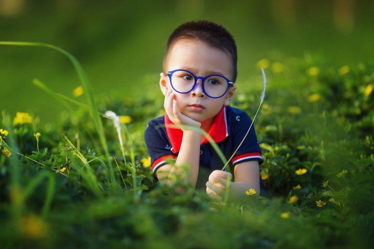 Smart Kids in Park