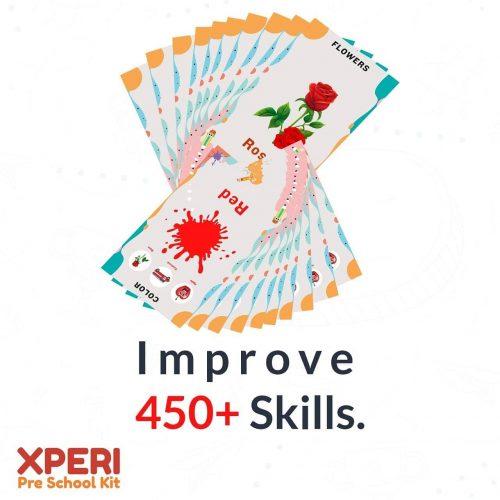 Improve more than 450 skills